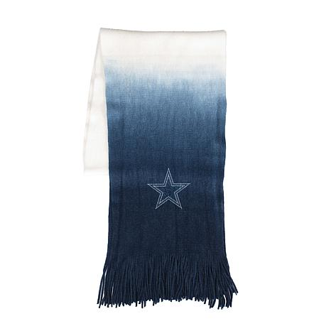 6087821d Officially Licensed NFL Dip Dye Scarf -Dallas Cowboys