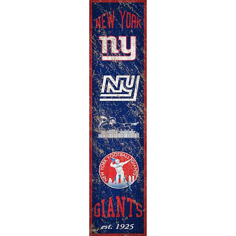 Officially Licensed NFL Distressed Banner Wall Art