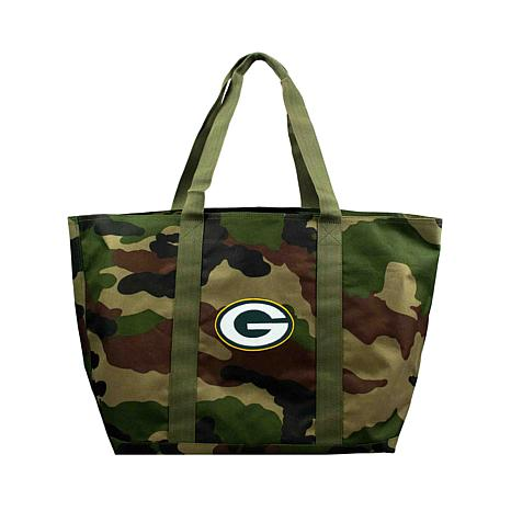 Officially Licensed NFL Embroidered Camo Tote - Packers