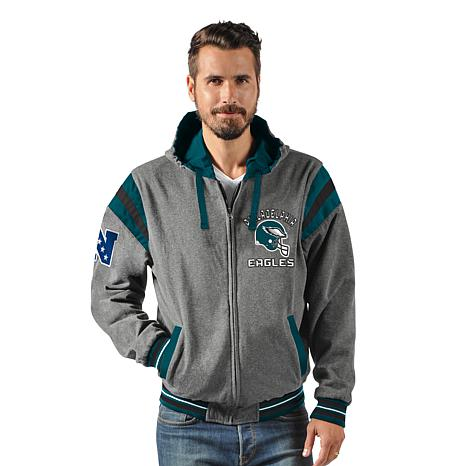 2332f72eb Officially Licensed NFL Hardball Reversible Hooded Jacket by Glll - Eagles  - 8719750