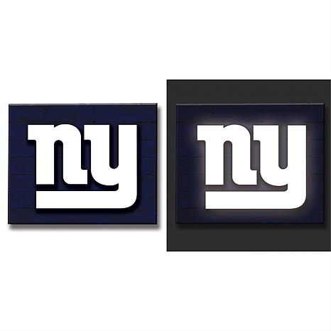 Officially Licensed NFL Lit Wall Décor - Giants