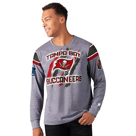 Officially Licensed NFL Men's Clutch Hit Long-Sleeve Tee  by Glll