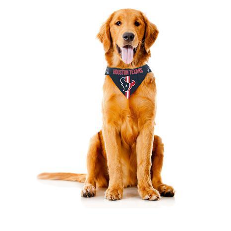 996007481 Officially Licensed NFL Reversible Pet Bandana - Houston Texans - 8518543