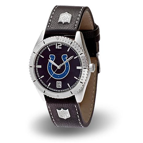 "Officially Licensed NFL Sparo ""Guard"" Strap Watch - Colts"