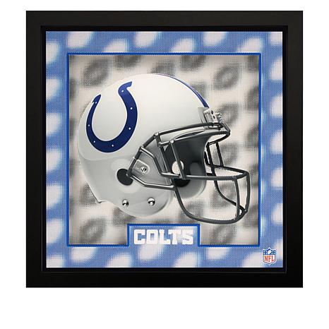 "Officially Licensed NFL Tridelix 12"" x 12"" 5D Wooden Frame"