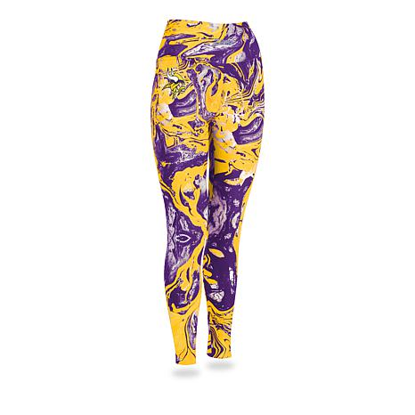 a09dea8539498 Officially Licensed NFL Women's Marble Swirl Legging by Zubaz ...
