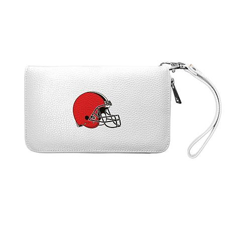 Hot Football NFL NFL Seattle Seahawks Zip Organizer Wallet Pebble *New*  for cheap