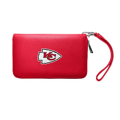 Hot Officially Licensed NFL Zip Organizer Wallet Kansas City Chiefs  hot sale