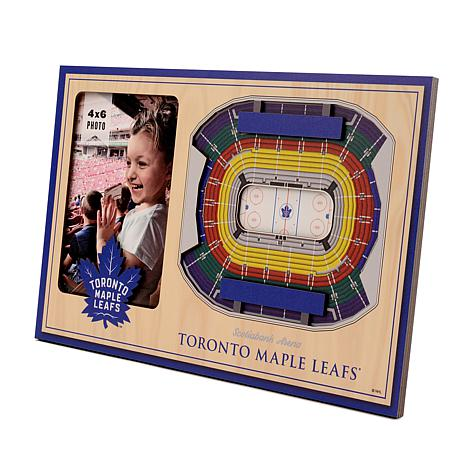 Officially Licensed NHL 3-D Picture Frame - Toronto Maple Leafs