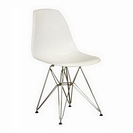 Omega Plastic Side Chairs - Set of 2