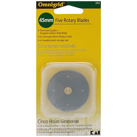 Omnigrid Rotary Blade Refill - 45mm 5-Pack
