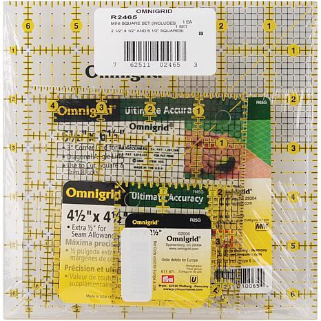 Omnigrid Ruler Set - Minis