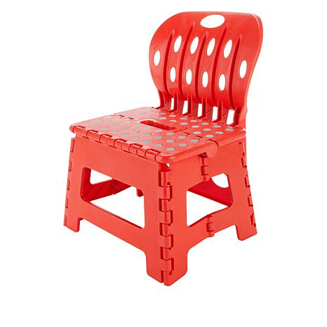 Pleasing Organizeme 2 Pack Folding Chair Step Stools Alphanode Cool Chair Designs And Ideas Alphanodeonline