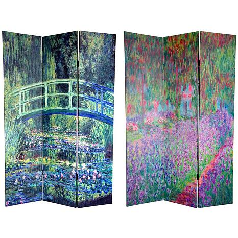 Oriental Furniture 6 Foot Double Sided Monet Bridge at Searose