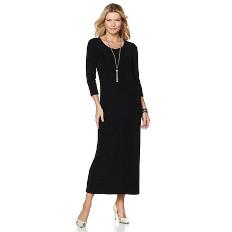 Original Slinky® Brand Scoop-Neck Maxi Dress