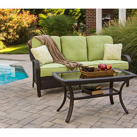 Orleans 2 piece outdoor furniture collection 7461254 hsn for Outdoor furniture new orleans