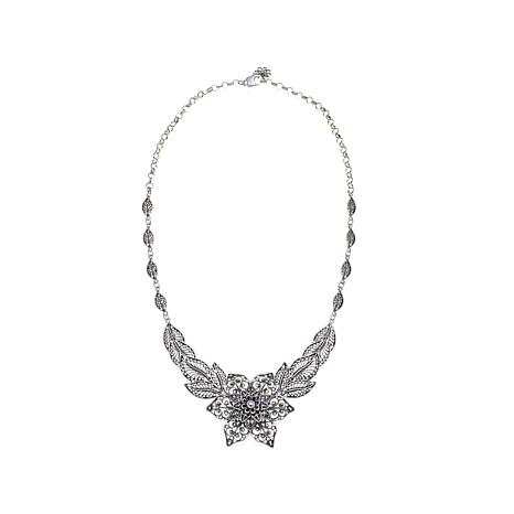 "Ottoman Silver Jewelry ""Flower"" 18"" Necklace"