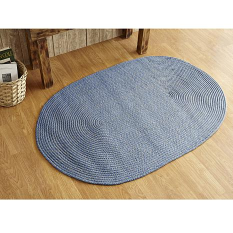 Palm Spring Braided Rug 20 Quot X 30 Quot 8238193 Hsn