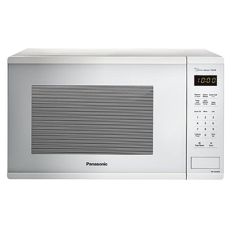 Panasonic 1100W 1.3ct White Microwave Oven