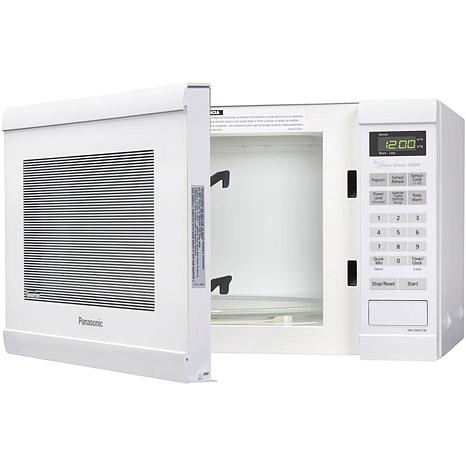 Panasonic 1.2 Cu. Ft. 1200W Countertop Microwave Oven with Inverter ...