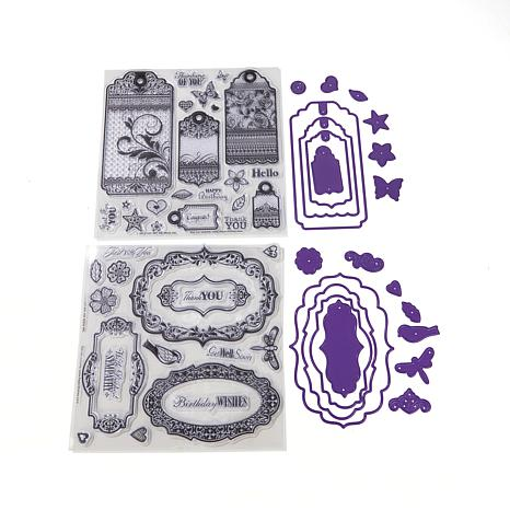 Paper Wishes Tags, Labels Stamps & Cutting Dies