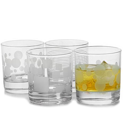 Pasabahce Trend 4 Piece 10.25 oz Old Fashioned Glass Set