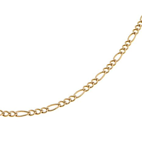 "Passport to Gold 14K Figaro-Link 16"" Chain Necklace"