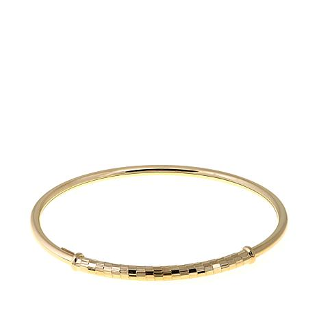 Passport to Gold 14K Flexible Bangle Bracelet