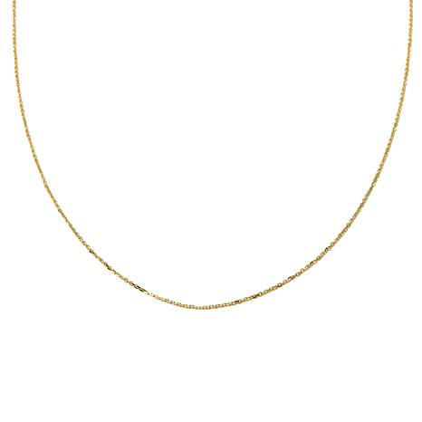 "Passport to Gold 14K Gold 1.1mm 18"" Cable Chain"