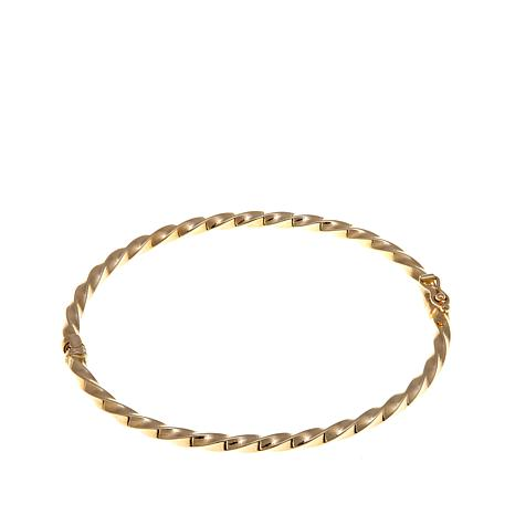 gold products bracelet karat jones twisted mixed company mrs link yellow