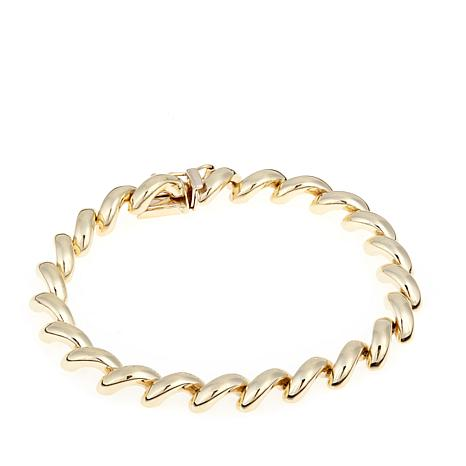 "Passport to Gold 14K San Marco 7-1/4"" Bracelet"