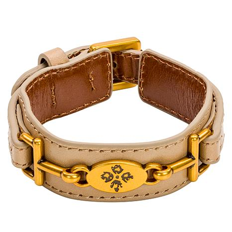 patricia-nash-delphine-riding-bit-leather-bracelet by patricia-nash