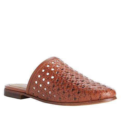 Patricia Nash Flavia Perforated Leather Slide