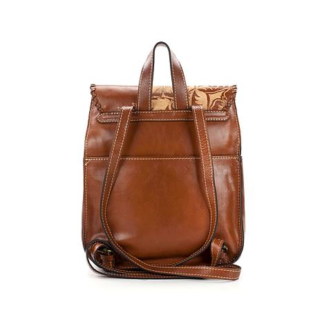 c57c33135eb1 Patricia Nash Jovanna Carved Leather Backpack - 8439723