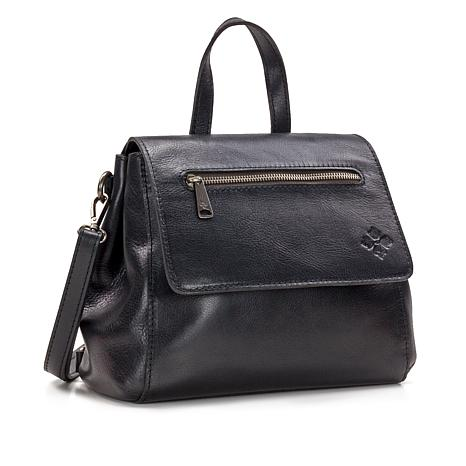 Patricia Nash Molina Convertible Leather Satchel