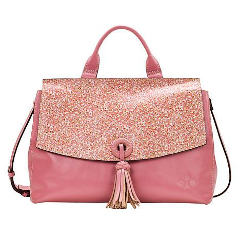 Patricia Nash Mollia Leather Top Handle Satchel