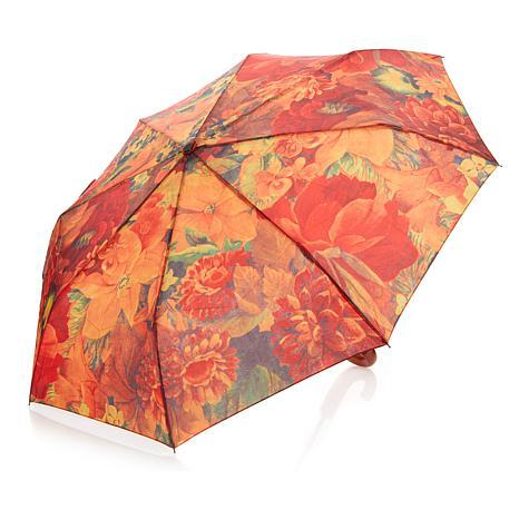 Patricia Nash Multi Floral Printed Umbrella