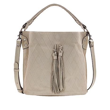 Patricia Nash Octavia Textured Leather Bucket Bag