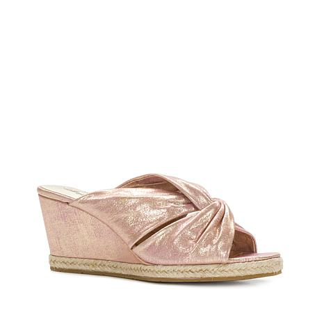 Patricia Nash Ricarda Metallic Leather Espadrille