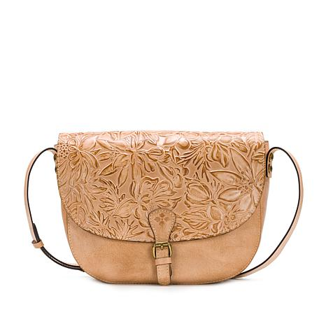 Patricia Nash Rosolini Leather Saddle Bag