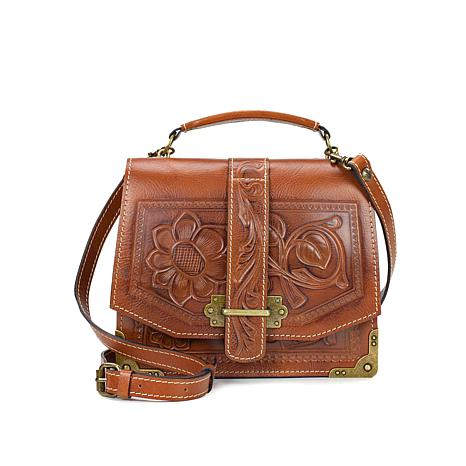 Patricia Nash Stella Tooled Leather Crossbody