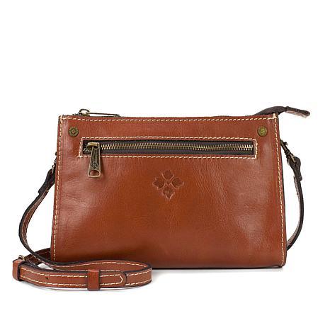 Patricia Nash Turati Leather Crossbody Bag