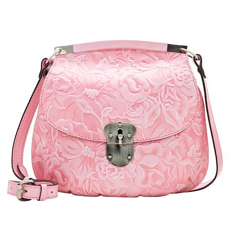 Patricia Nash Veneto Tooled Leather Crossbody Bag