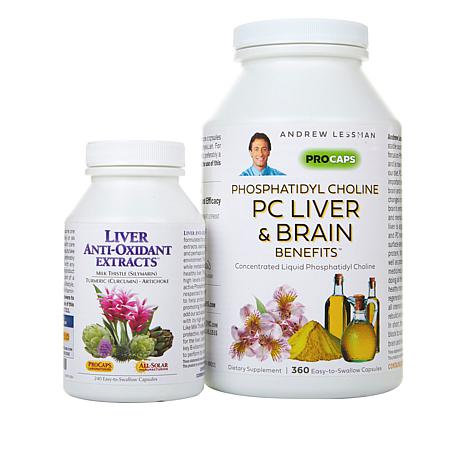 PC Liver & Brain Benefits & Liver Anti-Oxidant Extracts