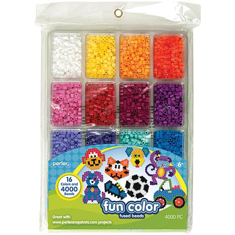 Perler Fused Bead Tray Fun Color 4,000 Count 2-Pack