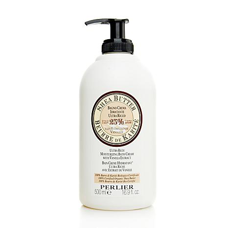Perlier 16.9 oz Shea Butter with Sweet Almond Milk Moisturizing Bat...