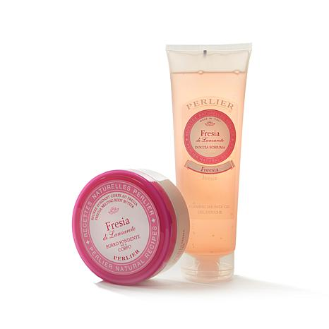 Perlier Freesia Shower Gel & Body Butter 2-piece Kit