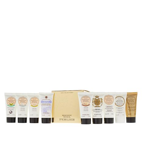 Perlier Honey Hand Cream 9-piece Set