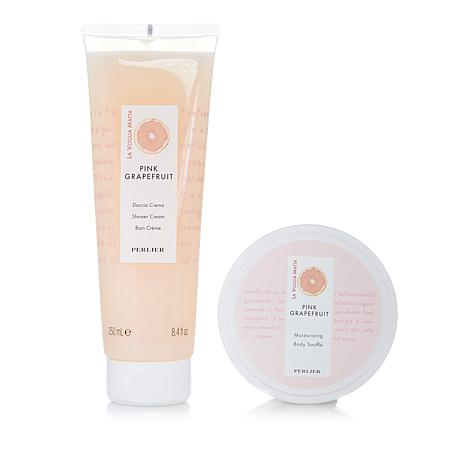 Perlier Pink Grapefruit 2-piece Bath and Body Set