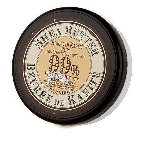 Perlier Shea Butter Apricot 99% Body Butter - 1 fl. oz.